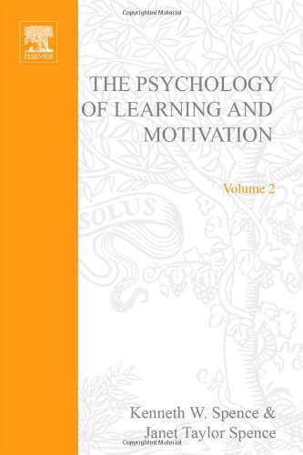 9780125433020: Psychology of Learning and Motivation: v. 2: Advances in Research and Theory