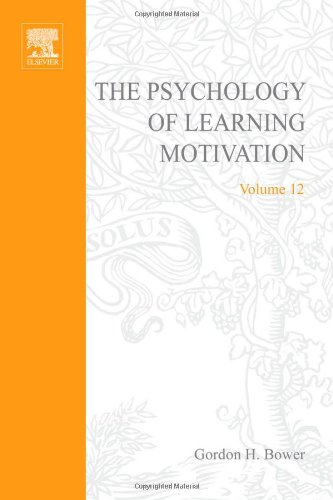 9780125433129: PSYCHOLOGY OF LEARNING&MOTIVATION:V12, Volume 12