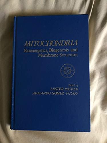 9780125434607: Mitochondria: Bioenergetics, Biogenesis and Membrane Structure