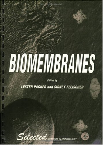 9780125435659: Biomembranes (Selected Methods in Enzymology)