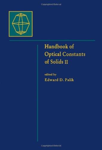 9780125444224: Handbook of Optical Constants of Solids: Volume 2: v. 2