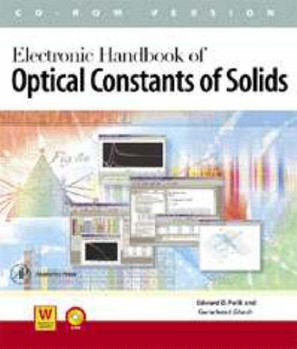 9780125444552: Electronic Handbook of Optical Constants of Solids: v1-5