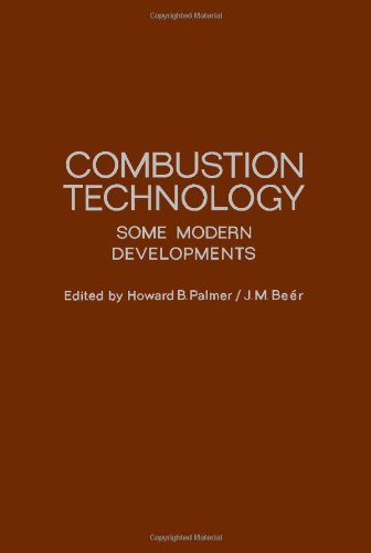 9780125447508: Combustion Technology: Some Modern Developments