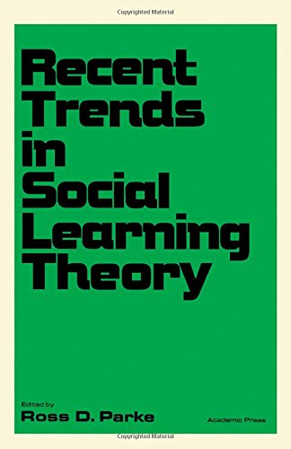 9780125450508: Recent Trends in Social Learning Theory