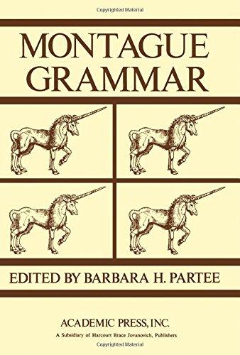 9780125458504: Montague Grammar