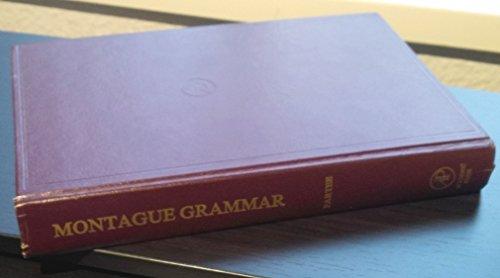 9780125458511: Partee Montague Grammar