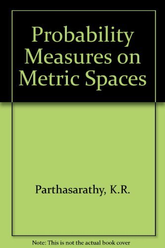 9780125459501: Probability Measures on Metric Spaces