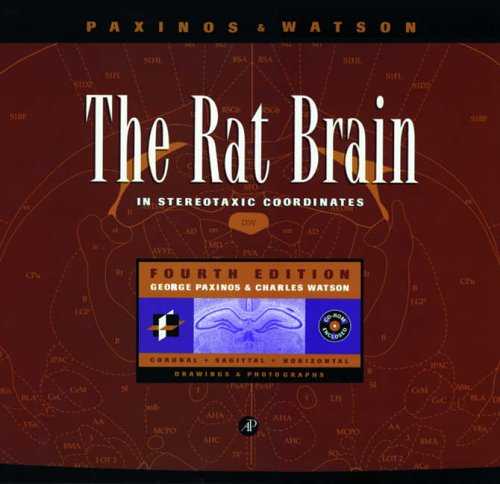 9780125476171: The Rat Brain in Stereotaxic Coordinates