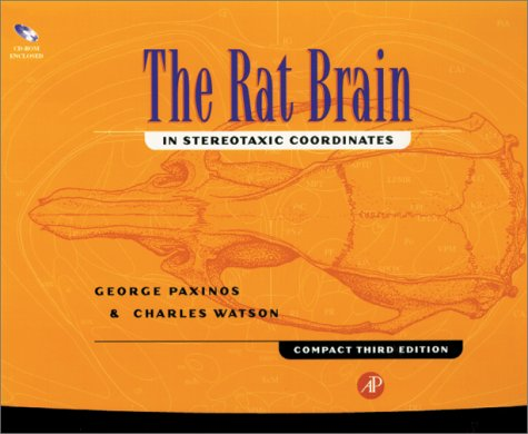 9780125476232: The Rat Brain in Stereotaxic Coordinates (Compact Third Edition), Third Edition
