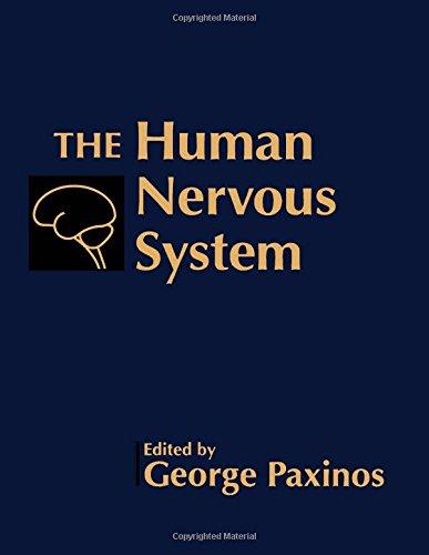 9780125476256: The Human Nervous System: v. 1