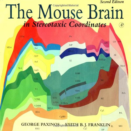 9780125476362: The Mouse Brain in Stereotaxic Coordinates, Second Edition