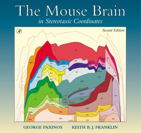 9780125476379: The Mouse Brain in Stereotaxic Coordinates (Deluxe Edition), Second Edition