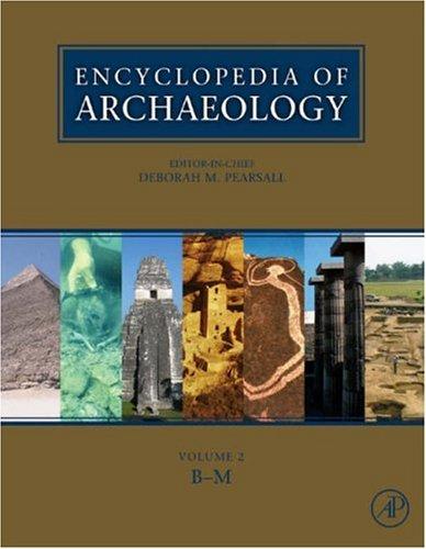 9780125480307: Encyclopedia of Archaeology