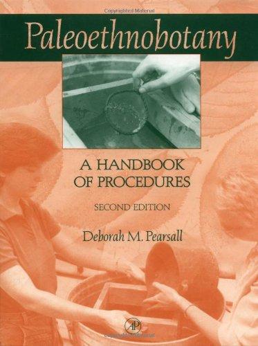 9780125480420: Paleoethnobotany, Second Edition: A Handbook of Procedures