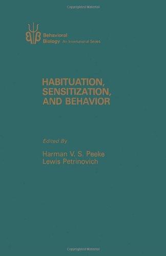 9780125498609: Habituation, Sensitization, and Behavior (Behavioral biology)