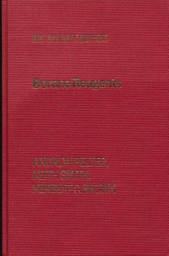 Borane Reagents (Best Synthetic Methods): Andrew Pelter; Keith