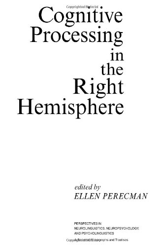 9780125506809: Cognitive Processing in the Right Hemisphere (Perspectives in Neurolinguistics, Neuropsychology, and Psycholinguistics)
