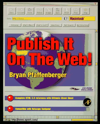 9780125531436: Publish It on the Web! Macintosh