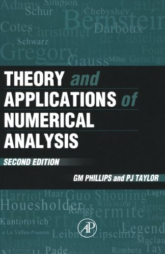 9780125535601: Theory and Applications of Numerical Analysis, Second Edition