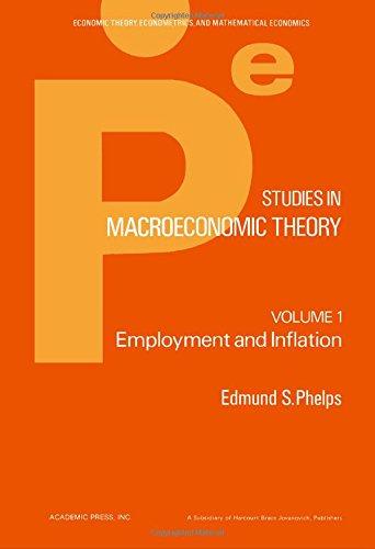 9780125540018: 1: Studies in Macroeconomic Theory (Economic theory, econometrics, and mathematical economics)