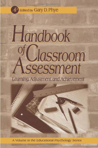 9780125541558: Handbook of Classroom Assessment: Learning, Achievement, and Adjustment (Educational Psychology)