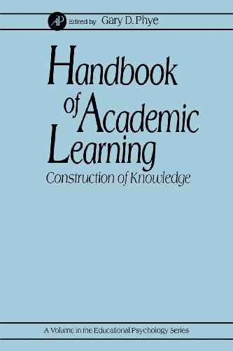 9780125542562: Handbook of Academic Learning: Construction of Knowledge (Educational Psychology)