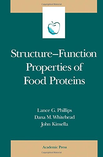 9780125543606: Structure-Function Properties of Food Proteins (Food Science and Technology)