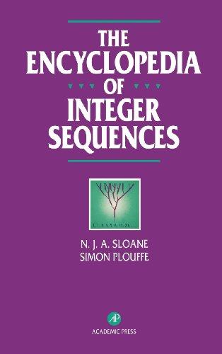 9780125586306: The Encyclopedia of Integer Sequences