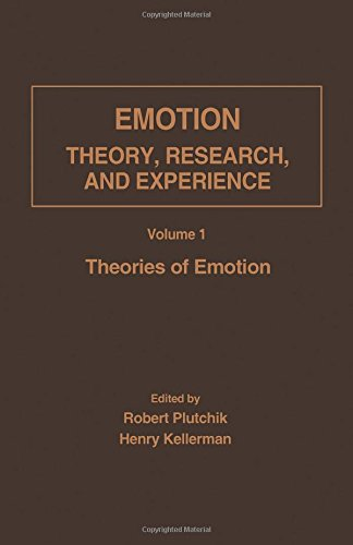 Theories of Emotion (Emotion: Theory, Research, and: Robert Plutchik