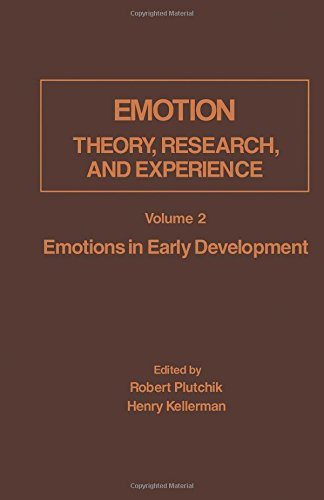9780125587020: Emotions in Early Development (Emotion: Theory, Research, and Experience, 2)