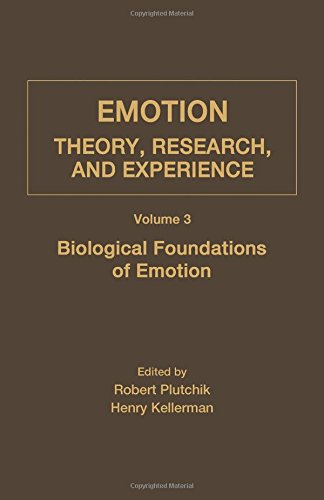 9780125587037: Emotion: Theory, Research, and Experience, Volume 3: Biological Foundations of Emotions