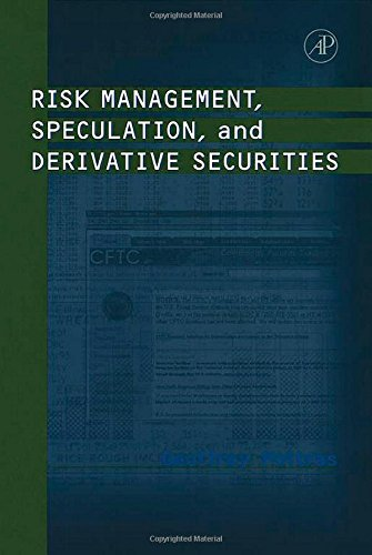 9780125588225: Risk Management, Speculation, and Derivative Securities