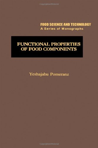 9780125612807: Functional Properties of Food Components (Food science and technology)