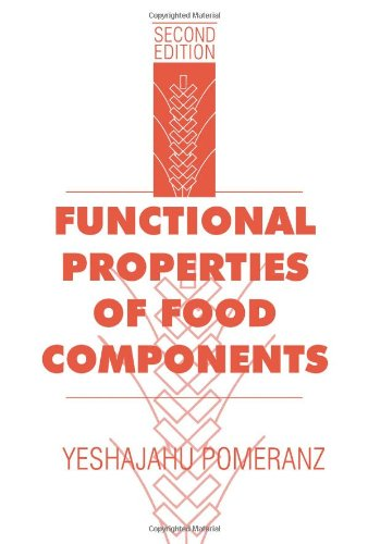 9780125612814: Functional Properties of Food Components, Second Edition (Food Science and Technology)