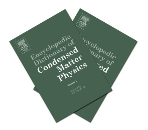 Encyclopedic Dictionary of Condensed Matter Physics: Jr., Charles P.