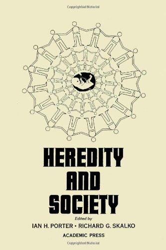 9780125628501: Heredity and Society