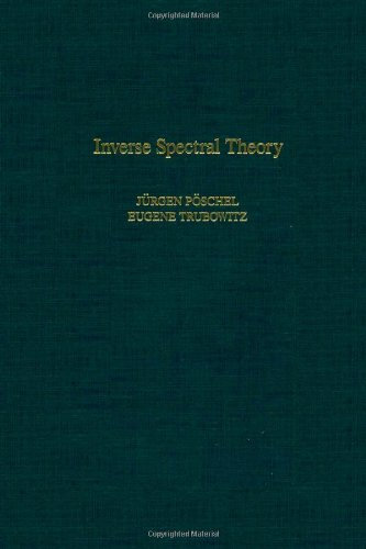 9780125630405: Inverse Spectral Theory, Volume 130 (Pure and Applied Mathematics)