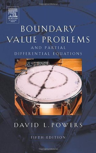 9780125637381: Boundary Value Problems: And Partial Differential Equations