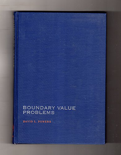 9780125637503: Boundary Value Problems