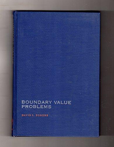Boundary Value Problems: Powers, David L.