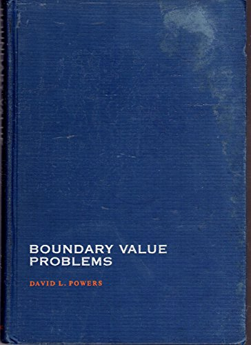 9780125637602: Boundary Value Problems