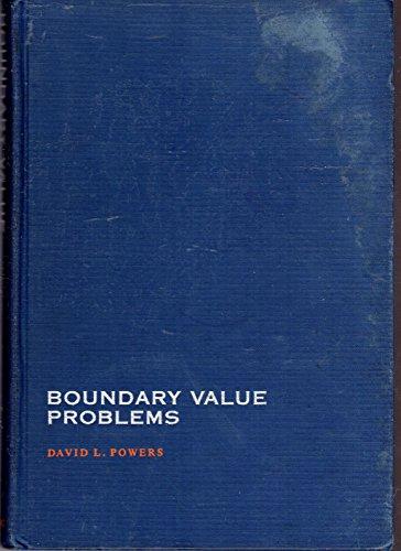 9780125637602: Boundary Value Problems