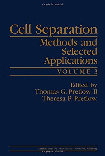 9780125645034: Cell Separation: Methods and Selected Applications, Vol. 3