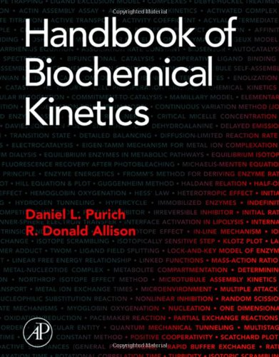 9780125680486: Handbook of Biochemical Kinetics: A Guide to Dynamic Processes in the Molecular Life Sciences