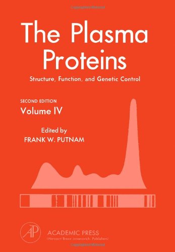 9780125684040: Plasma Proteins: Structure, Function, and Genetic Control