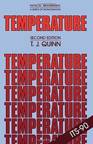9780125696814: Temperature (Monographs in physical measurements series)