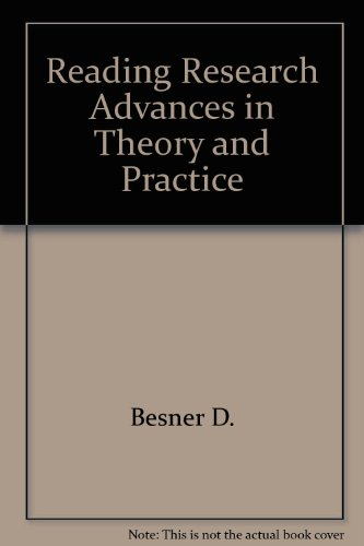 9780125705011: Reading Research Advances in Theory and Practice