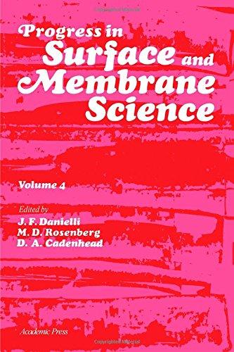 Progress in Surface and Membrane Science, volume: Danielli, J.F., et