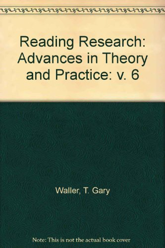 9780125723060: Reading Research: Advances in Theory and Practice