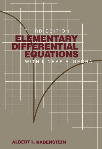 9780125739450: Elementary Differential Equations with Linear Algebra